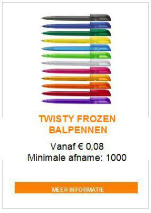 Twisty frozen balpen